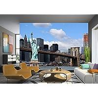 AG Design AG FTxxl 0116 diseño papel pintado para pared-partes fotomurales Estatua de la libertad