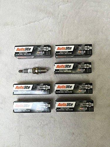 Autolite 8x Double Platinum Zündkerze app5224Grand Cherokee 4,72005-2007/Commander 4.72006-2007 - Cherokee-zündkerzen 05-grand