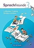 Sprachfreunde - Ausgabe Nord/Süd 2010: 3. Schuljahr - 5-Minuten-Training