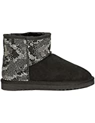 COLORS OF CALIFORNIA UGG LOW BOOT BLA