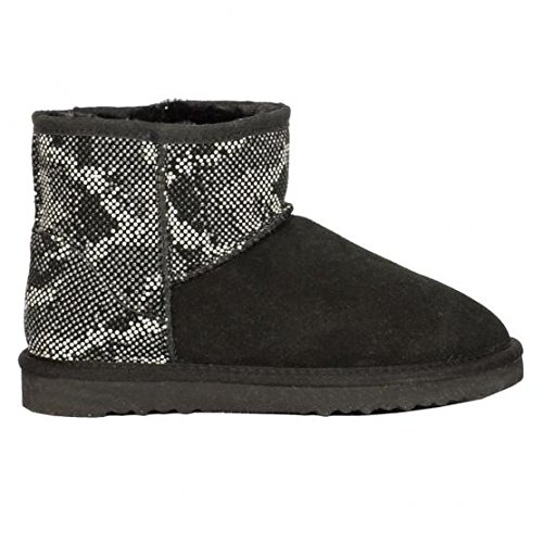 COLORS OF CALIFORNIA UGG LOW BOOT BLA 38