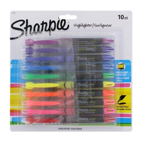 sanford-ink-corporation-san24415pp-liquid-chisel-surligneur-micro-point-10-st-assorted