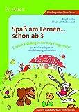 Endlich Frühling in der Kita Fliegenpilz!: Grundlagen für erfolgreiches Lernen bei allen Kindern von 3-6 schaffen, 2 Schwierigkeitsstufen (Kindergarten) (Spaß am Lernen ... schon ab 3)