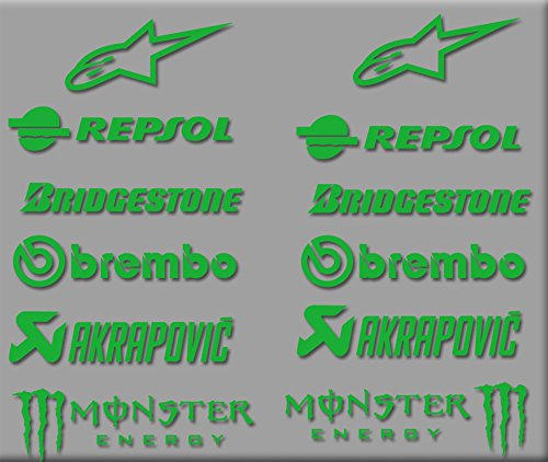 pegatinas-sponsors-moto-gp-r326-stickers-aufkleber-decals-autocollants-adesivi-bridgestone-verde