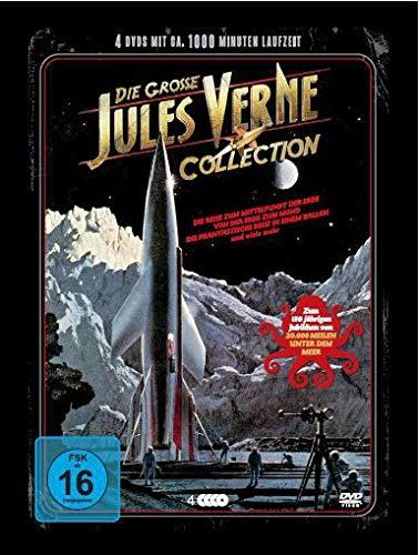 Jules Verne - Sammler Deluxe Metallbox mit 12 Filmen [4 DVDs]