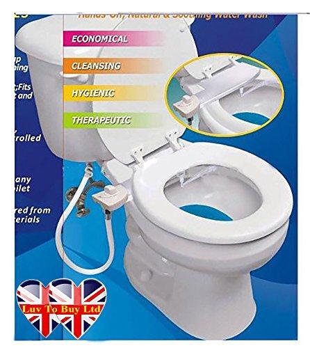 Bidet, WC Bidet, Cold Water Bidet, Einfache Installation (sobald Sie versuchen, Sie werden es lieben) 050 DE (Bidet Spa Saubere)