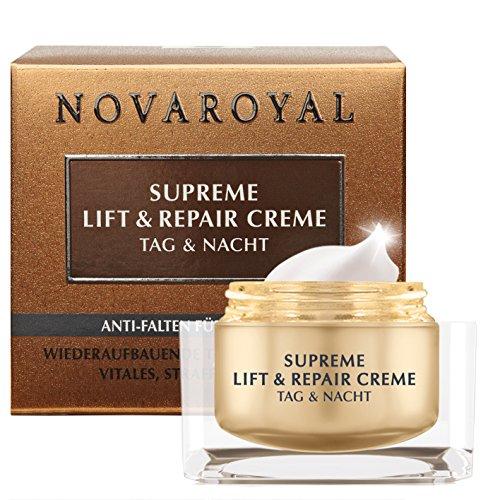 NOVAROYAL® Gesichtscreme für Frauen ab 60 | reduziert selbst ausgeprägte Falten bei reifer Haut...