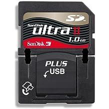 SanDisk Secure Digital Plus USB Ultra II (SD) Speicherkarte 1 GB