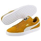 Puma Unisex-Erwachsene Suede Classic Sneaker, Grün (Aquifer White), 43 EU
