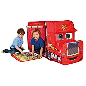 Disney 167CCC Cars Mack Truck Playhouse - Pop Up Role Play Tent