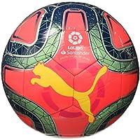 PUMA LaLiga 1 Ms Trainer Balón de Fútbol, Unisex Adulto, Rosa (Pink Alert-Yellow Alert-Green Glimmer), 5