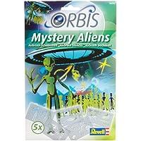 Orbis Mistery Aliens - Juego de 5 plantillas para aerógrafo diseño Alienígenas [Importado ...