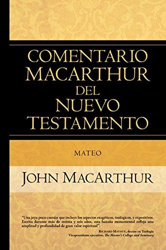 Mateo (Comentario Macarthur Del N.t.)