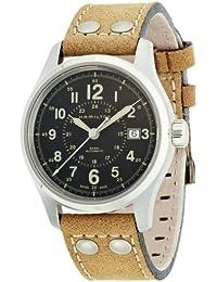Hamilton Herren-Armbanduhr XL Chronograph Automatik Leder H42615753