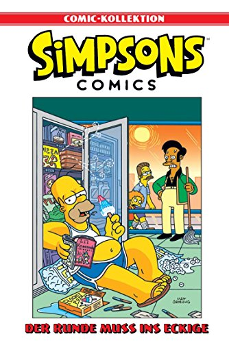 Simpsons Comic-Kollektion: Bd. 8: Der Runde muss ins Eckige