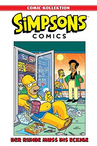 Simpson 8 (Simpsons Comic-Kollektion: Bd. 8: Der Runde muss ins Eckige)