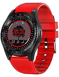 Decoración de la Mano L9 Reloj Inteligente con cámara Bluetooth Reloj Deportivo Monitor de Fitness Soporte para Tarjeta SIM Smartwatch Reloj…