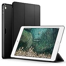 ESR Funda iPad Pro 10.5 con Auto-Desbloquear y Función de Soporte [Ligera] de Cuero Sintético y Plástico Duro Cover Cáscara para Apple iPad Pro 10.5 pulgadas -Negro