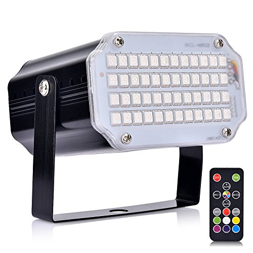 Luces de escenario dj light con control remoto luces para fiestas uces...