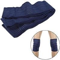 broadroot 1par Fitness vendaje para rodillas de levantamiento de pesas apoyo para gimnasio, azul