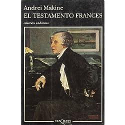 El testamento francés (Volumen independiente) Premio Goncourt 1995