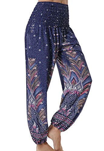 Pantalones Yoga Sueltos Mujer Harem Boho