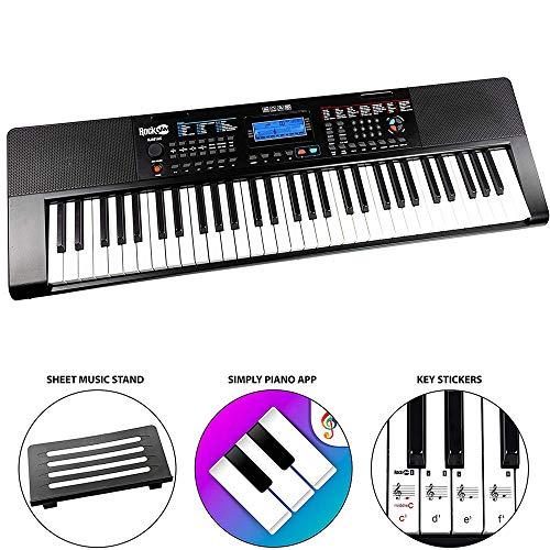 Imagen de Pianos Digitales Rockjam por menos de 90 euros.