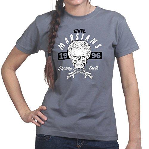 Alien Attack on Earth Ladies T shirt (Mars Attacks Kostüme)