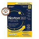 Norton 360 Premium 2020 - 10 Appareil - 1 An - Secure VPN et Password Manager - PC/Mac/iOS/Android - Code d'Activation - Envoi par email...