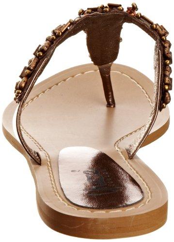 Unze Evening Slippers, Scarpe chiuse donna Marrone (Braun (L18502W))