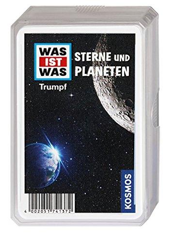 Kosmos 741372 - WAS IST WAS Sterne und Planeten, Trumpf-Kartenspiel Sterne 8