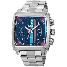 GuTe cuadrado automático Mens pulsera watch-black