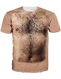 Zerototens Men 3D T-Shirt Personality Boobs Printed Men Summer Fashion  Short Sleeve Crewneck Tee 18db2e19fc48d