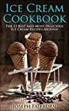 Best Ice Cream Cookbooks - Ice Cream Cookbook: The 13 Best And Most Review