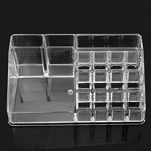 rokoo 16 Raster Kosmetik Make-up Acryl Case Lippenstift Liner Pinsel, Storage Halter Display Organizer Ständer Box