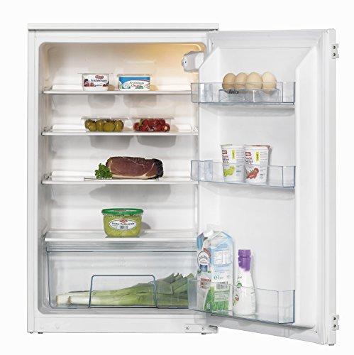 Amica EVKS 16162 Kühlschrank / A+ / 88 cm Höhe / 120 kWh/Jahr / 142 L Kühlteil / Antibakterielle Beschichtung / 3 Glasablagen Sicherheitsglas, Rahmen vorne und hinten / weiß