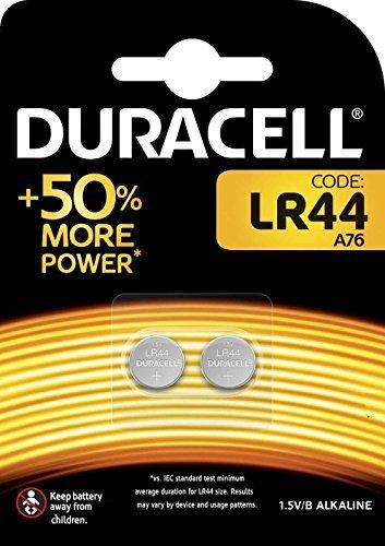 Duracell 10DULR44-2 A76 1,5V Knopfzelle (10x 2-er Blister Pack)