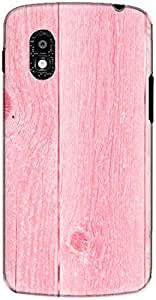 The Racoon Grip printed designer hard back mobile phone case cover for LG Nexus 4. (Pin Painte)