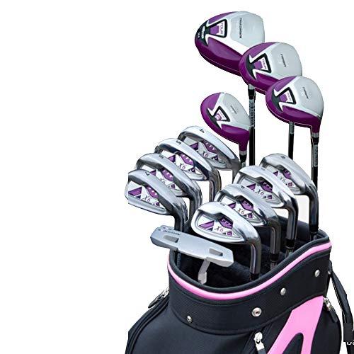 MOMIN-SP Golfschläger tragen Damen Golf Putter Golf Praxis Club 13 STÜCKE Leichte Golf Sets Frauen Golf Clubs Komplette Clubs Anfänger Sets Übung Bars Golf-Übungsputter