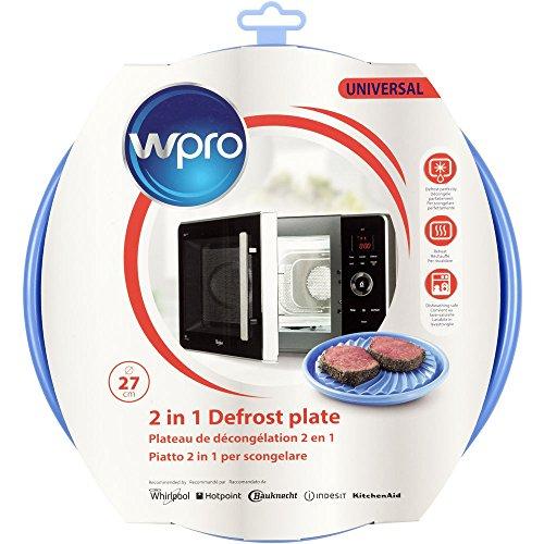 wpro DFG270 - Mikrowellenzubehör/ Auftauplatte 2in1 für Mikrowellen/ für das Auftauen und...