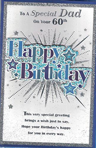 Dad carte d'anniversaire 60 ans ~ to a special Dad on Your Happy Birthday 60 ans