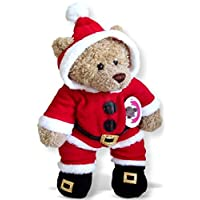 Build Your Bears Wardrobe 15-Inch Clothes Fits Build a Bear Santa All-in-one Outfit