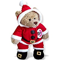 Build Your Bears Wardrobe – Vestiti per costruire un orso Babbo Natale Tuta Outfit