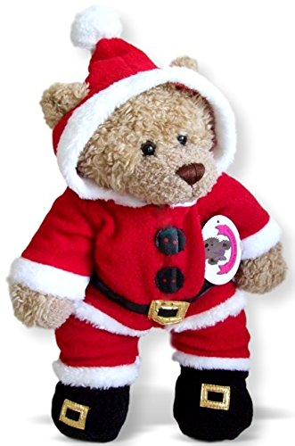 Build Your Bears Wardrobe - Vestiti per costruire un orso Babbo Natale Tuta Outfit
