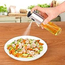 Druckpresse Typ Grillen Spr/üh-/Ölflasche Salate Bratpfannen /Ölflasche f/ür Pasta Spr/ühflasche langlebig f/ür Grillen Ros/égold R/östen ABS Grills und Grills Backen Oliven/öl Pumpe