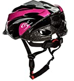 Sport Direct Bicycle Helmet Ladies, 56-58cm, Pink Bild 5