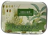 Caramelle al Pino ed Eucalipto box metallico da 40 g - Prodotto erboristico made in Italy