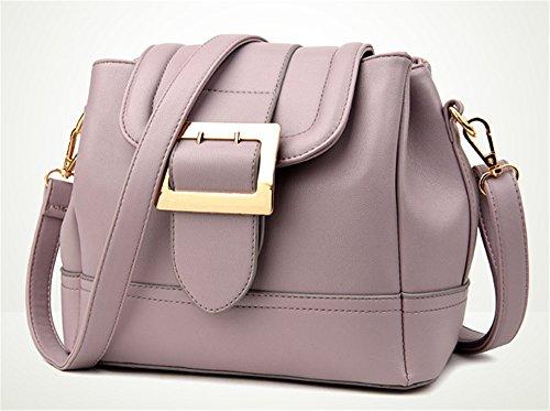 Xinmaoyuan Borse donna estate retrò Ladies benna borsa Messenger selvatici Big Bag,verde Rosa