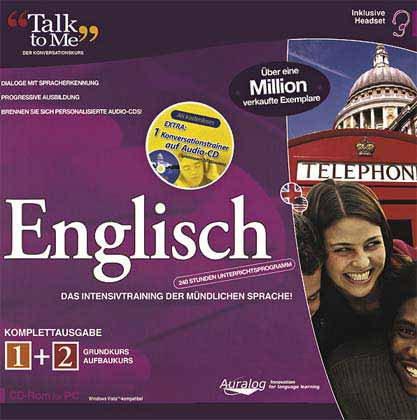 Talk to Me - Englisch Komplettausgabe Grundkurs 1 + Aufbaukurs 2 + Audio-CD: Das Intensivtraining...