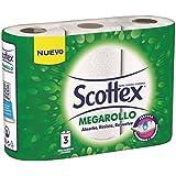 Rollo de Cocina Scottex Megarollo P3 3 rollos - Pack de 2 (Total 6 rollos)